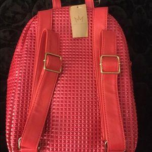 3bea07d558 Nicki Minaj Bags - Nicki Minaj Pink Gold Studded Backpack